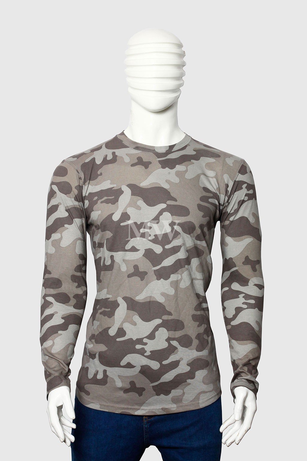 bd4540b1 Men's Military Style camouflage Printed Full Sleeve T-shirt ...