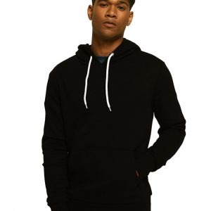 Men's Kangroo Stylish Black Hoodie