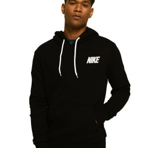 Men's Kangroo Stylish Black Hoodie Nike
