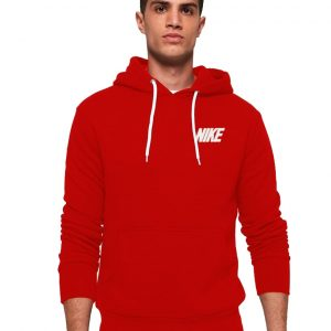 Men's Kangroo Stylish Red Hoodie Nike