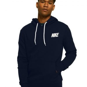 Men's Stylish Blue Zipper Hoodie Nike