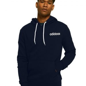 Men's Stylish Blue Zipper Hoodie Adidaas
