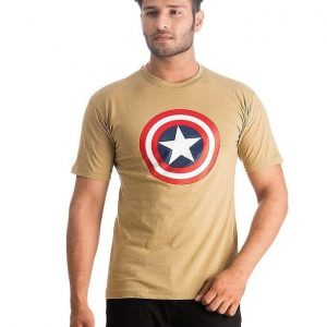 Beigh Captain America Printed T Shirt For Him mw410