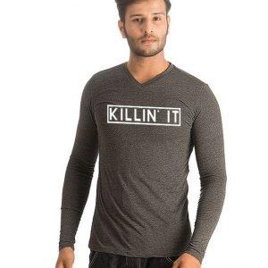 Charcoal Killin It Printed T shirt For Him mw386