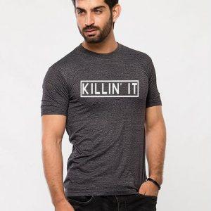 Charcoal Killin It Printed T shirt For Him mw42