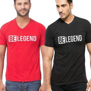 Pack of 02 Be Legend Printed T shirts mw447