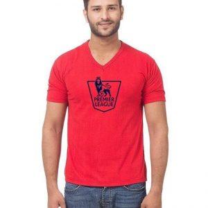 Red Premier League Premier T shirt For Him mw35