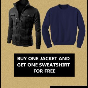 Ribbed jacket for men mw29