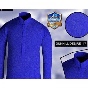Barat Dresses For Boys Dark Blue-Dunhil Desire 17-1 By Glacier Fabrics