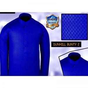Best Dark Blue Kurta for Mehendi event-Dunhil Bunty 2 Dark Blue By Glacier Fabrics