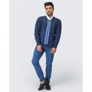 Oxford Blue Pullover Sweater -065