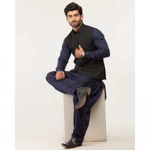 Oxford W/Coat-15- Black Waist Coat