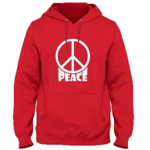 Peace Hoodie By Next Level Clothing