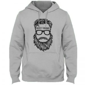 Respect The Beard Hoodie By Next Level Clothing