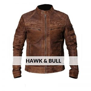Signature Brown REAL Leather Jacket Designer Class By Cavalry