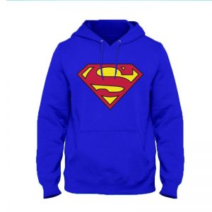 Superman Hoodie By Next Level Clothing