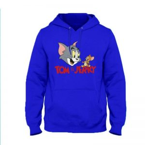 Tom and Jerry Hoodie By Next Level Clothing