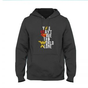 You Cant Safe The World Alone Hoodie By Next Level Clothing