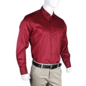 Men's Eminent Formal Shirt - Maroon
