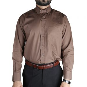 Men's Formal Shirt - Brown