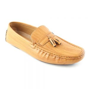 Men's Loafer Shoes (6668-4) - Camel