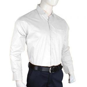 Men's Plain Formal Shirt - White