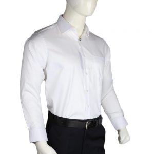 Men's Privilege Cotton Formal Shirt - White