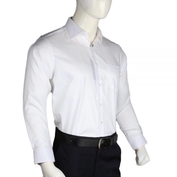 Men's Privilege Cotton Formal Shirt - White