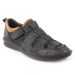Men's Roman Sandals 1226-18 - Navy Blue