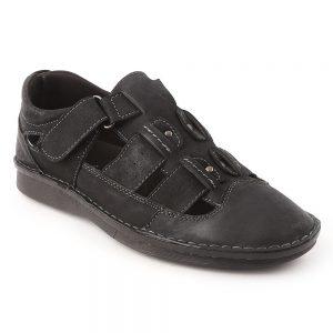Men's Roman Sandals 1226-8 - Black