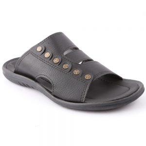 Men's Slippers R-19 - Black