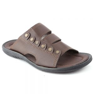 Men's Slippers R-19 - Brown
