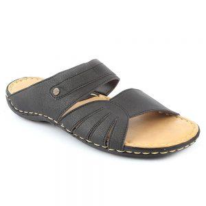Men's Slippers R-35 - Black