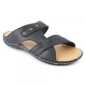 Men's Slippers R-36 - Black
