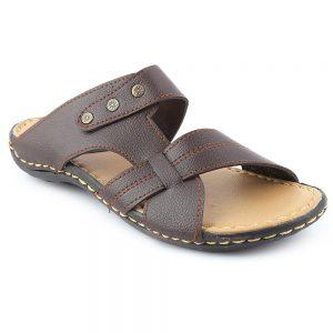 Men's Slippers R-36 - Brown