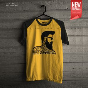 ARM Apparels Beard Raglan T-Shirt