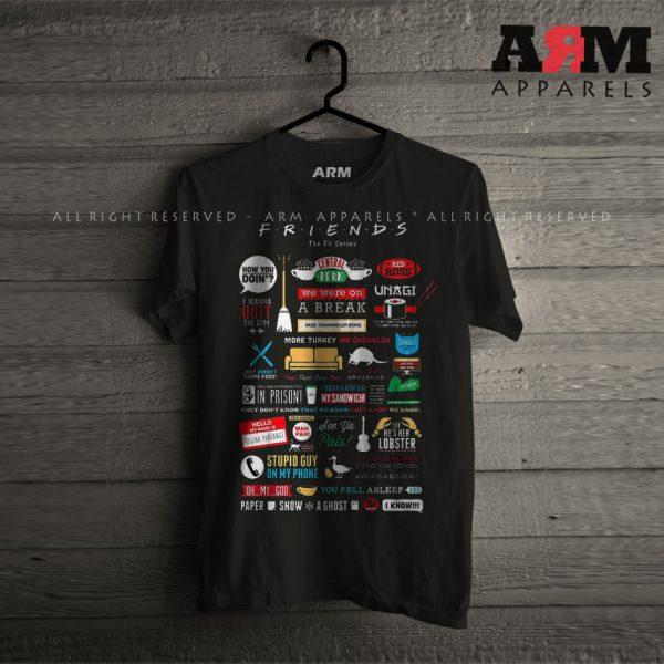 ARM Apparels Friends T-Shirt