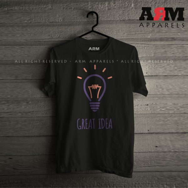 ARM Apparels Great Idea T-Shirt