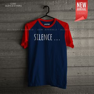 ARM Apparels Silence Raglan T-Shirt