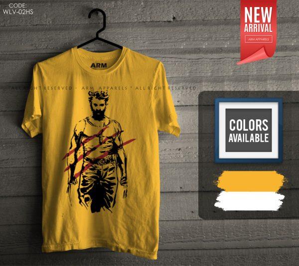 ARM Apparels Wolverine T-Shirt WLV-02HS.