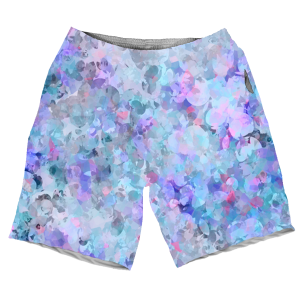 Blury Floral MEN SHORTS SH-M004213