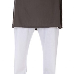 Bonanza Satrangi O-White-Cotton-Pajama PJ-160-O-WHITE