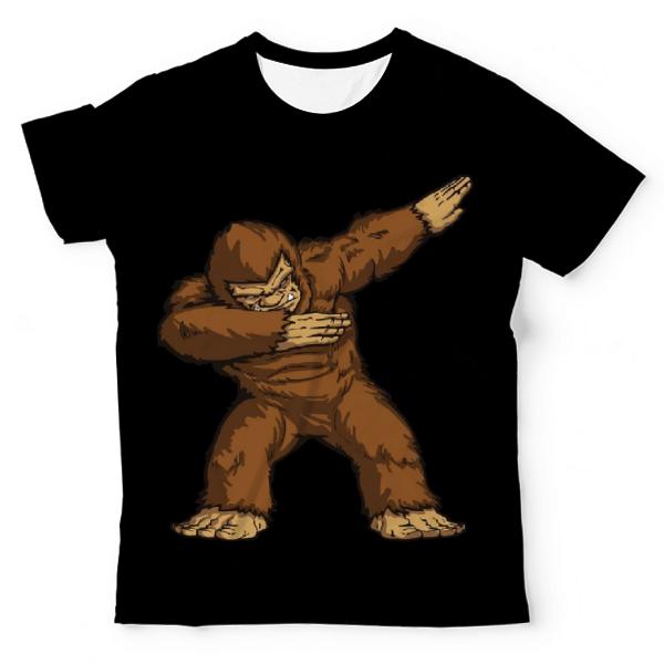 779091dd0 Dabbing Bigfoot UNISEX ALL-OVER PRINT TEE UAT-M003466 - Menswear.pk