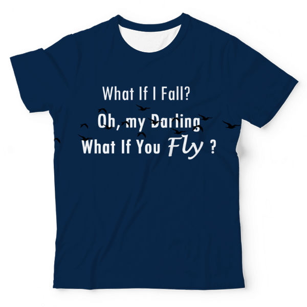 Fly High UNISEX ALL-OVER PRINT TEE UAT-M003266