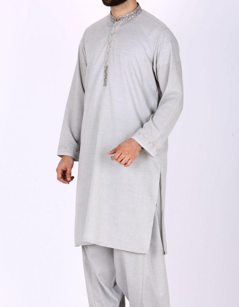68e4e144ab Junaid Jamshed Summer Collection 2019 Dark Navy Polyester Viscose Men's Kameez  Shalwar 102868123 - Menswear.pk