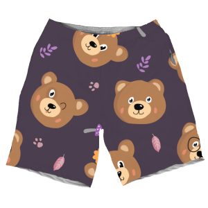 The Bears PURPLE MEN SHORTS SH-M002749