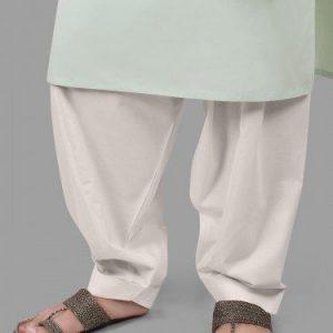 Edenrobe White Shalwar 9909