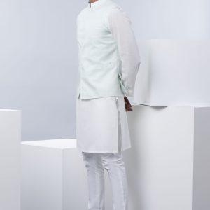 Sapphire Light Aqua Waist Coat