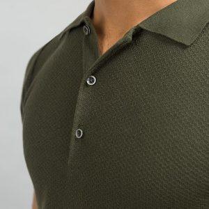 Gul Ahmed Dark Green Fashion Polo PKP-URB-D46-04