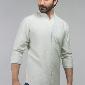Gul Ahmed Green Casual Shirt CM-YD-2690